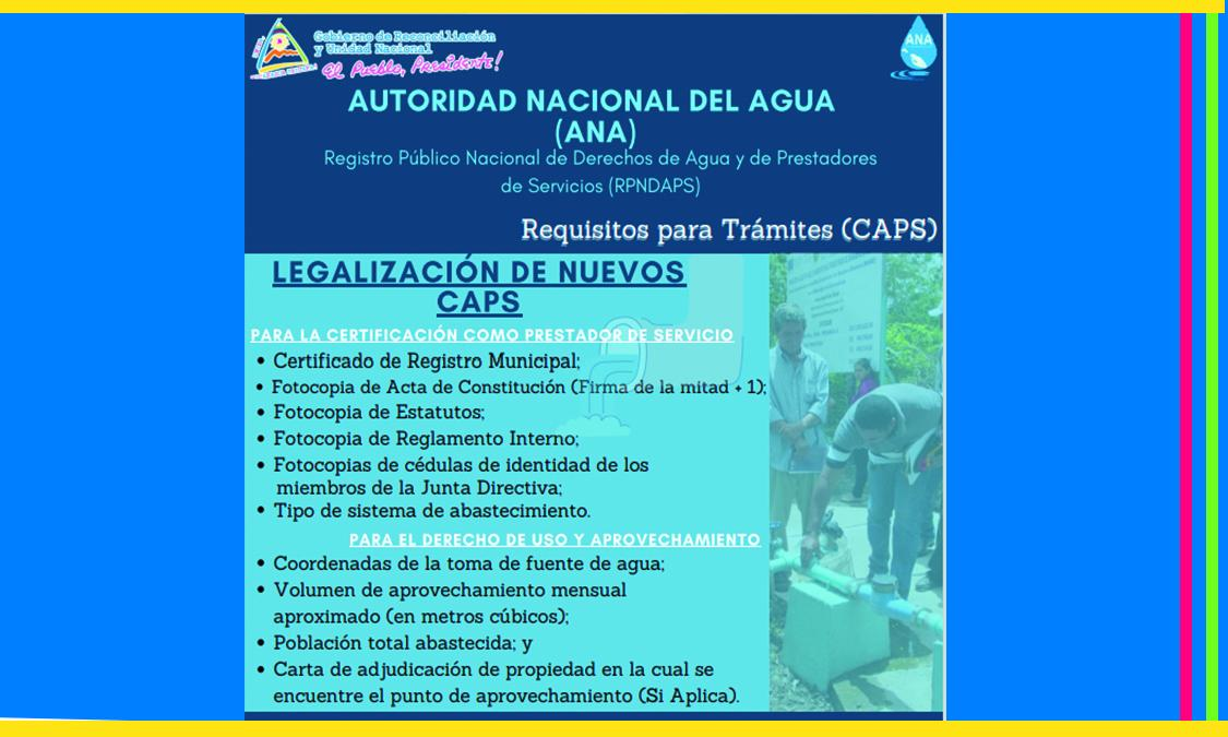 Requisitos para Trámites ( CAPS )